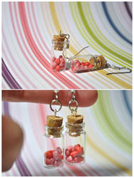 Jar of Hearts Earrings by eserenitia