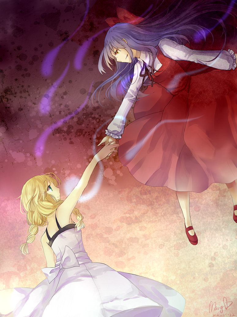 Ellen and Viola by Mary-ko