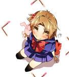 Aki-chan Cosplay 1_ver. dark sailor uniform