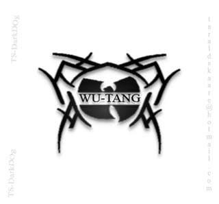 wu tang tattoo by ts darkdog on deviantart. Black Bedroom Furniture Sets. Home Design Ideas