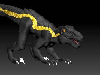 Indoraptor2 by MetalBirb