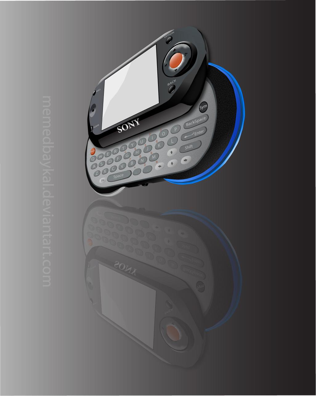 Vectorel Sony Mylo by memedbaykal
