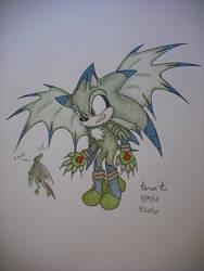 Jesse the Hedgehog by TheGreenDragonGirl