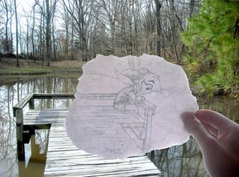 On the Dock by TheGreenDragonGirl