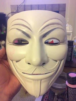 V Mask Progress 3