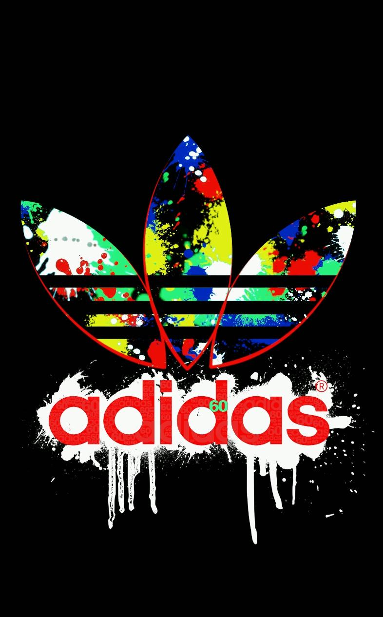 adidas Trefoil Logo W sweat à capuche noir blanc