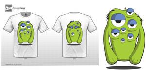 Eye's Watching You --t-shirt design--