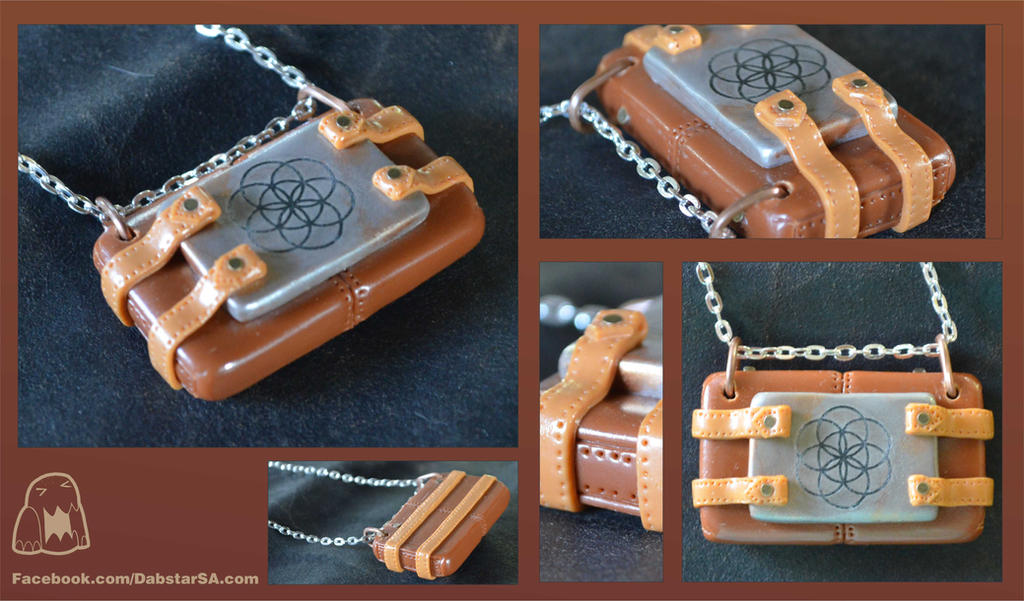 Sacred Steampunk Pendant 001 by Dabstar