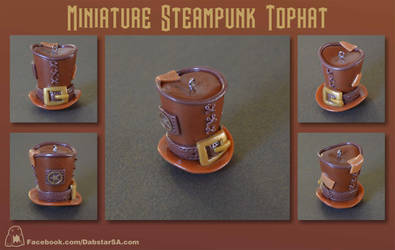 Miniature Steampunk Top Hat 002