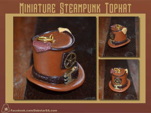 Miniature Steampunk Top Hat 003