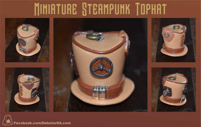 Miniature Steampunk Top Hat 004