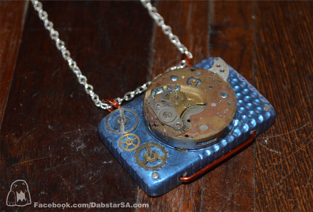 Steampunk Pendant 003 by Dabstar