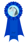 2nd Place Feather Fest Ribbon by Spotty001