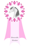 Honorable Mention Feather Fest Ribbon by Spotty001