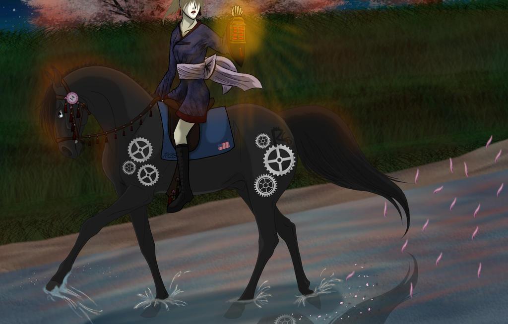 Knight Cherry Blossom Dressage