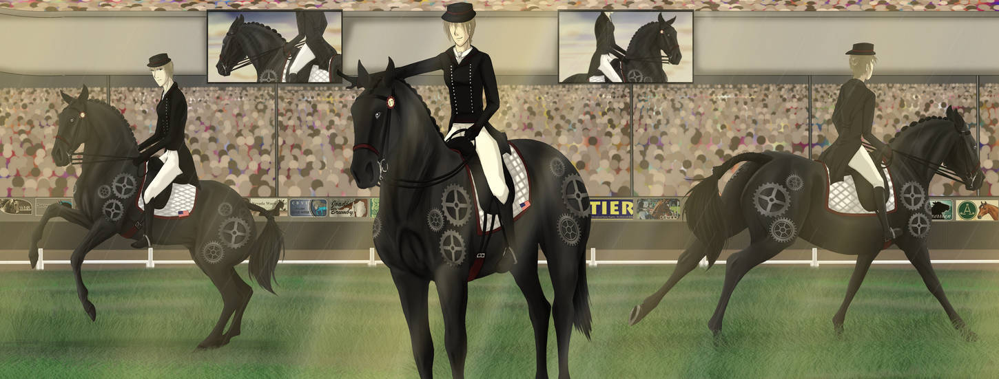 The Final Dance - Olympic Dressage by Spotty001