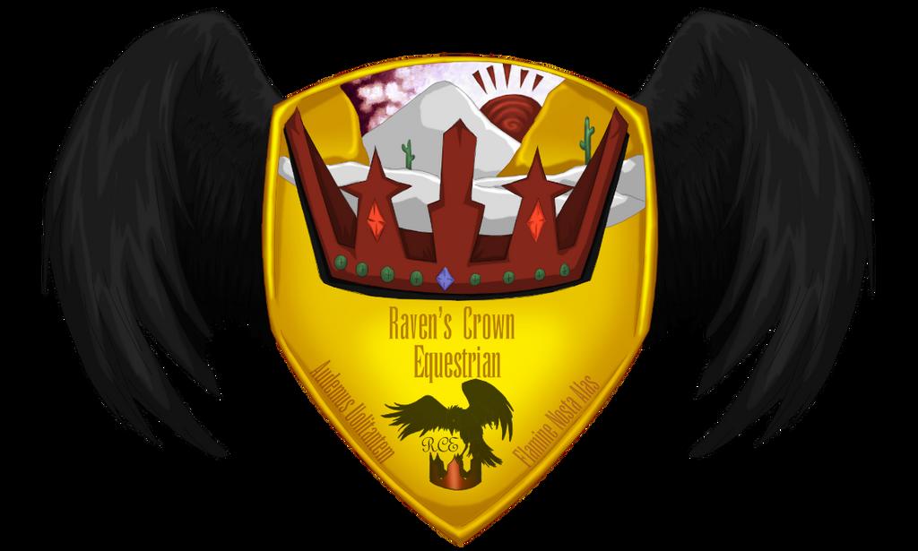 Raven's Crown Equestrian Shield by Spotty001