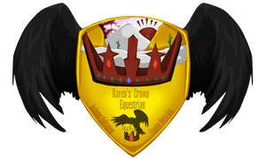 Raven's Crown Equestrian Shield by Spotty001