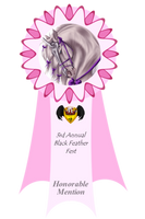 3rd Annual Feather Fest - Honorable Mention Ribbon by Spotty001