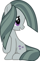 Marble Pie being adorable by TimeLordOmega