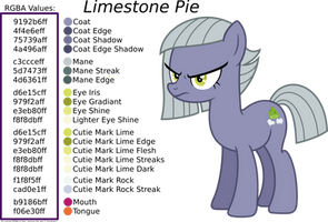 Limestone Pie Coloring Guide by TimeLordOmega