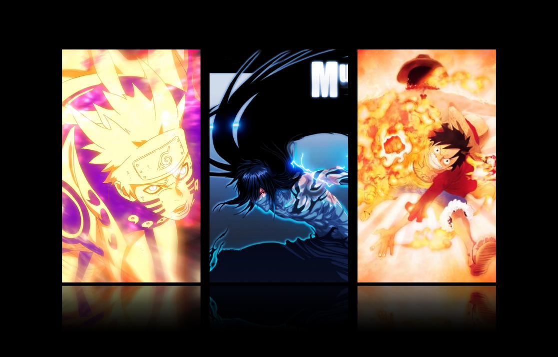 Naruto Vs Bleach Vs One Piece By TriasMaster ...