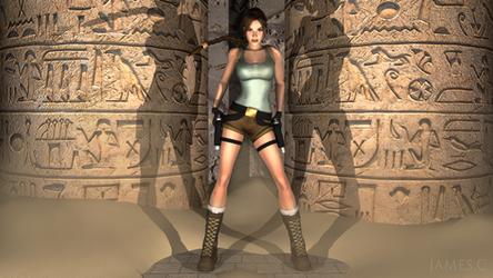 Lara Croft, Tomb Raider by James--C