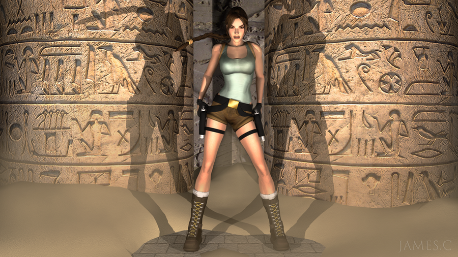 lara croft by james - photo #7