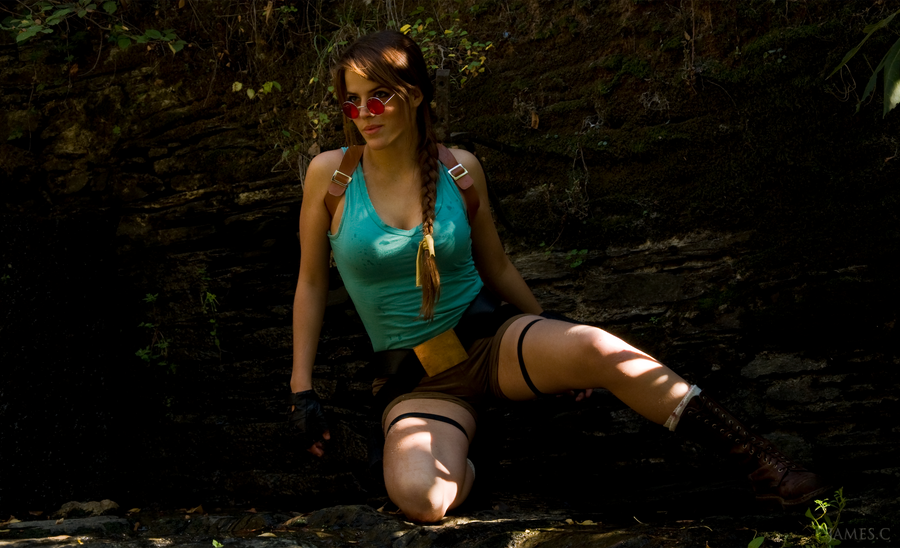 lara croft by james - photo #11