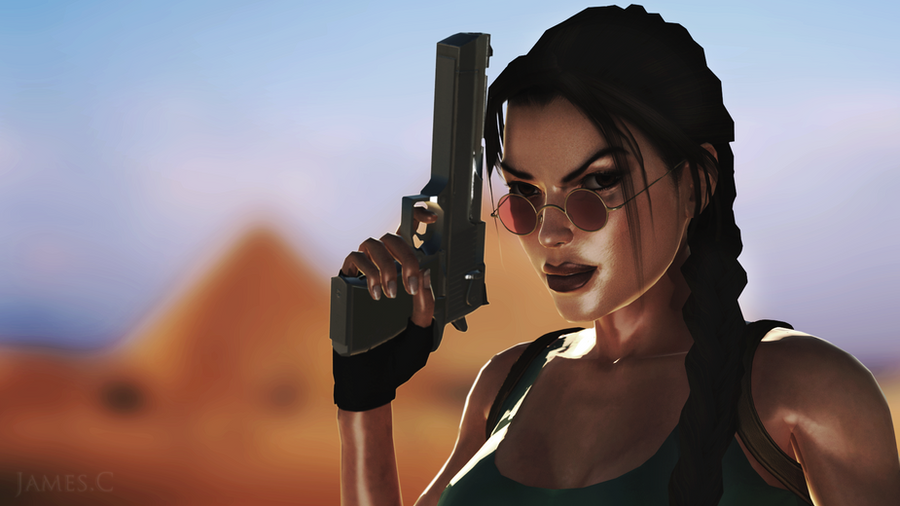 lara croft by james - photo #10