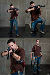 Uncharted cosplay - JE2012 - Crazyball by James--C