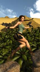 Lara Croft by James--C