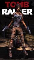 Tomb Raider - guns