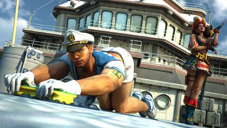Resident Evil Revelations -  Sailor work by James--C