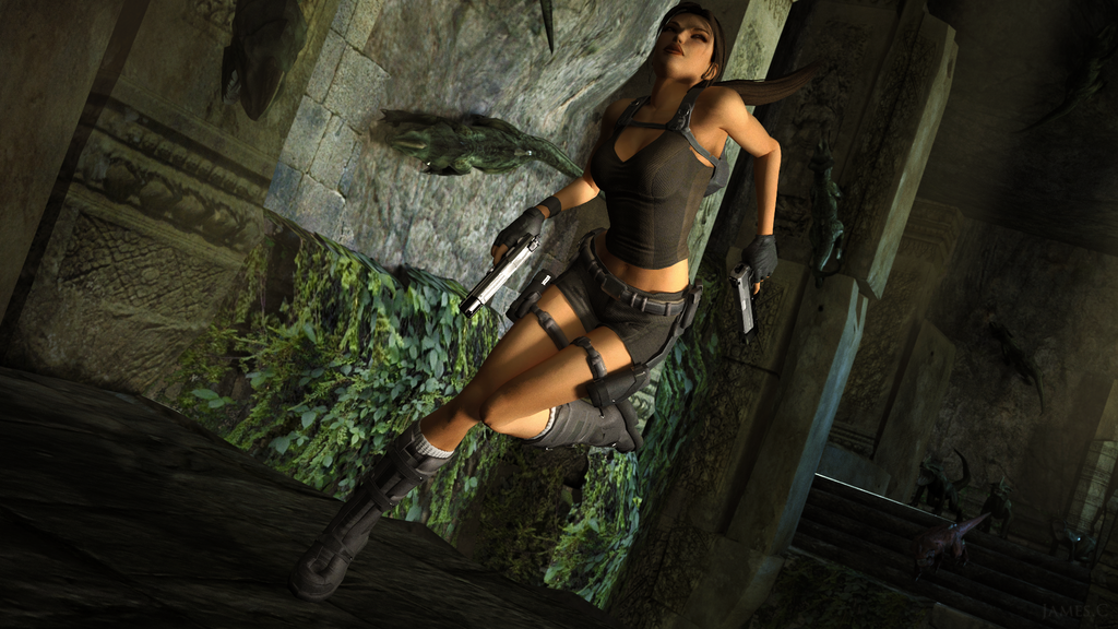 lara croft by james - photo #27