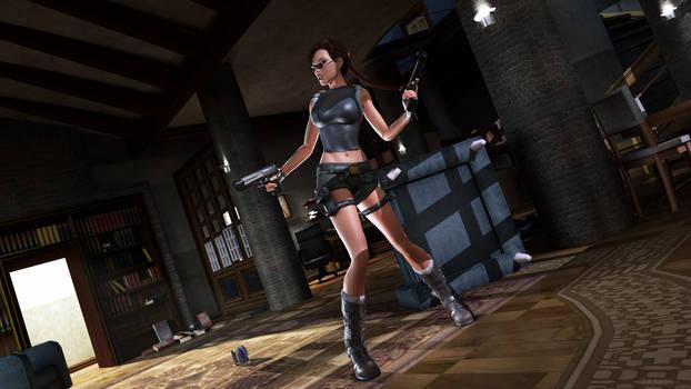 Tomb Raider - Von Croy apartment