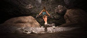 Spider's cave - Tomb Raider II