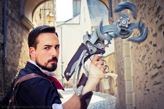 Booker Dewitt cosplay - Bioshock Infinite