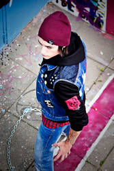 Delsin Rowe cosplay - InFamous Second Son