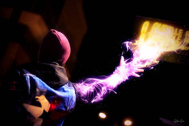 Neon power - InFamous Second Son cosplay