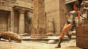 Tomb Raider IV - crocodiles
