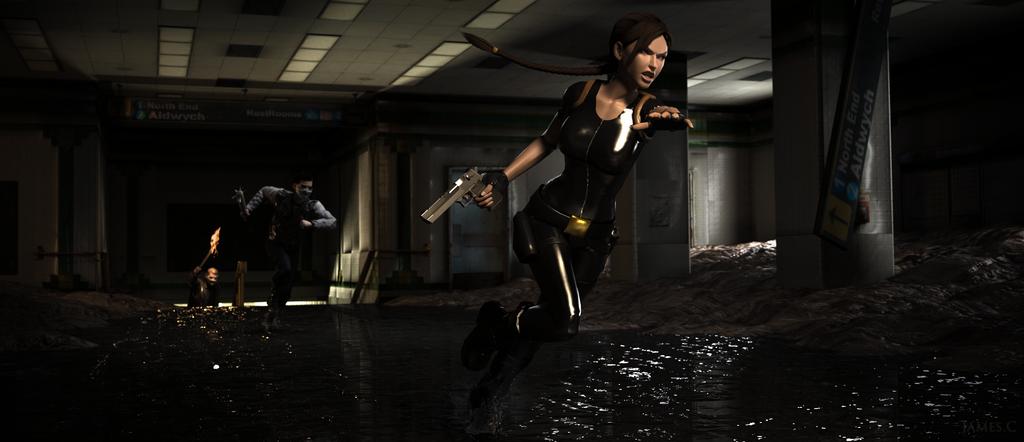 Aldwych - Tomb Raider III by James--C