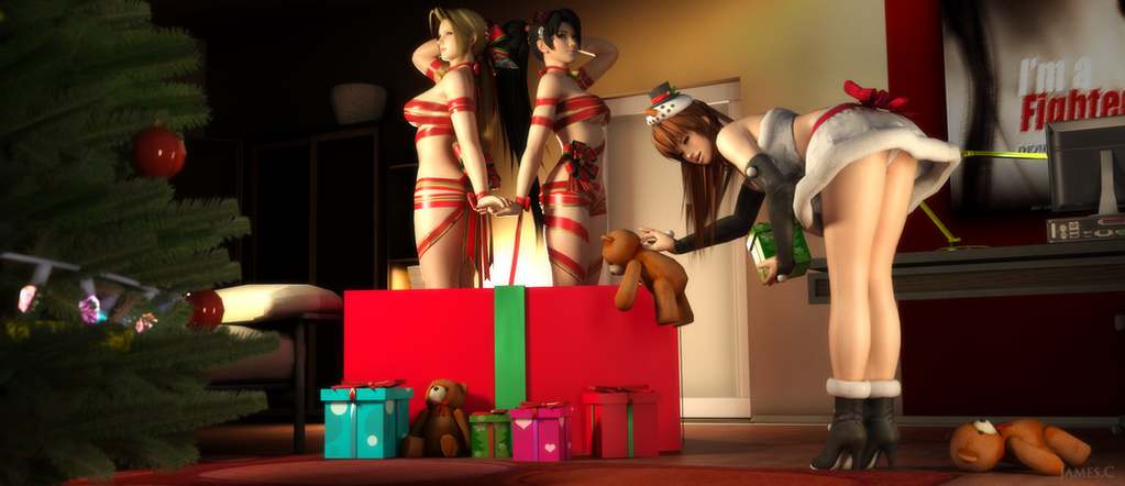 Dead or Alive - Merry Christmas by James--C