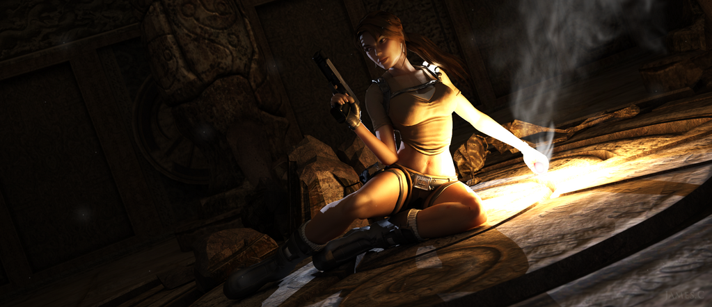 Lara Croft - Tomb Raider Legend by James--C