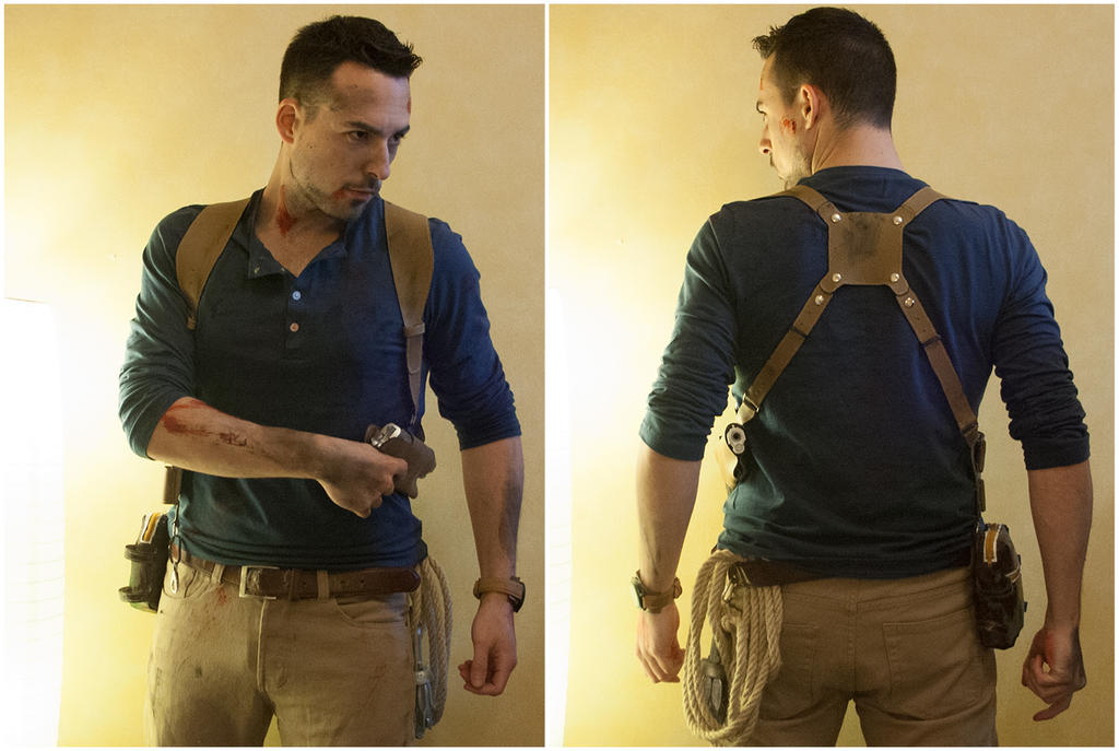 Uncharted 4 cosplay - Preview before photoshoot by James--C