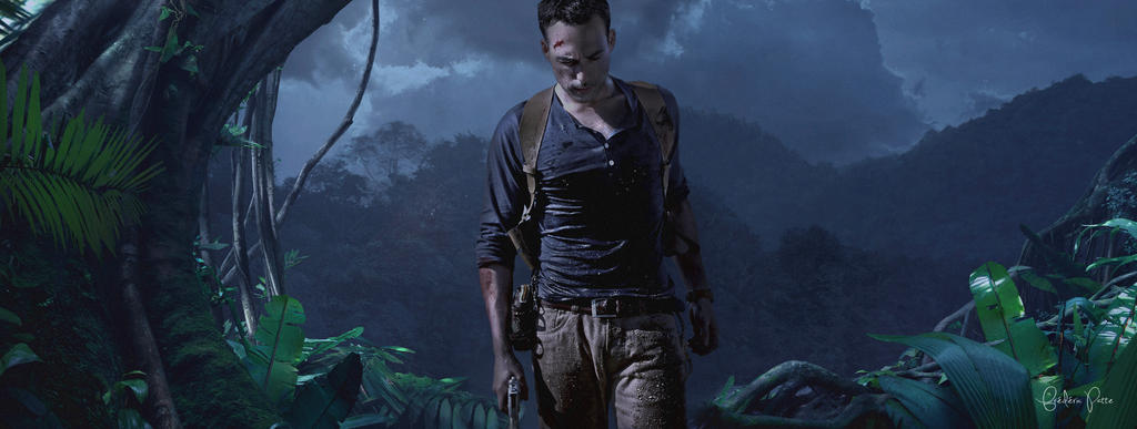Uncharted 4 cosplay - composition by James--C