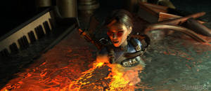 Tomb Raider II - Sola inspired by Inna Vjuzhanina