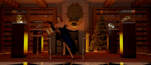 Merry Christmas from Lara Croft by James--C