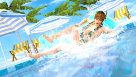 Kasumi splash ! by James--C