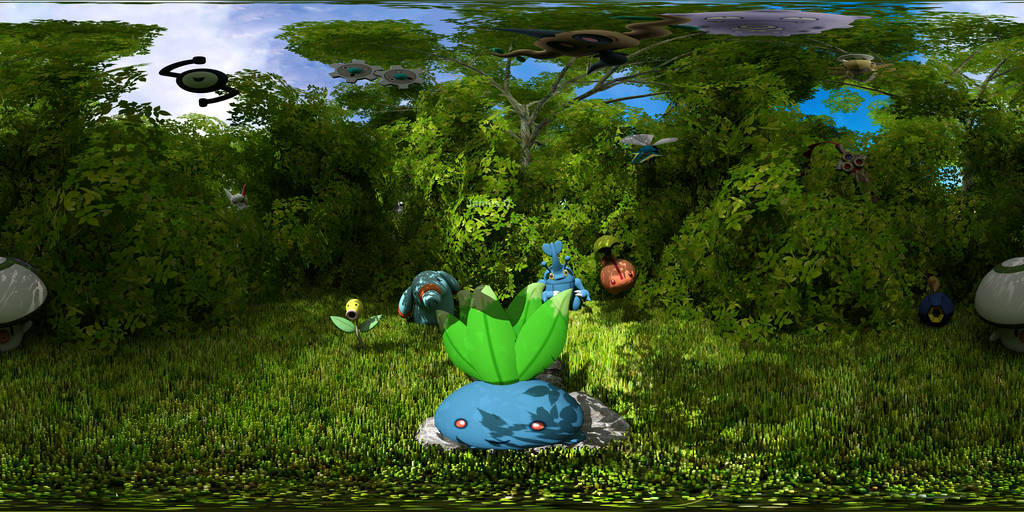 Pokemon 360 image by James--C
